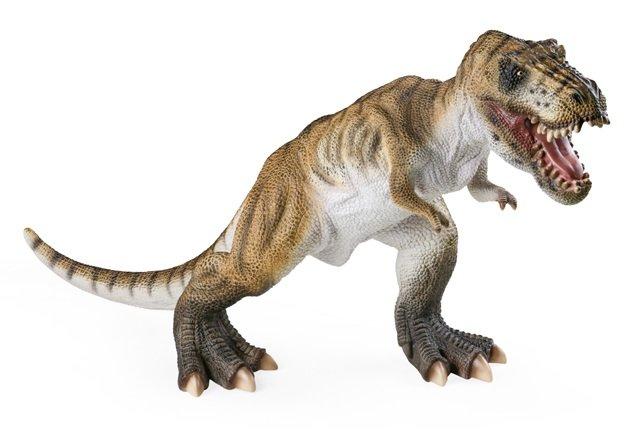 Большой резиновый динозавр Тиранозавр Тирекс 58 см