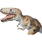 Большой резиновый динозавр Тиранозавр Тирекс 58 см, фото 4