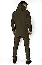 "Размеры S-3XL | Мужская куртка Softshell ""Intruder"" Khaki Хаки, фото 2"