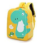 Детский рюкзак, полиэстер (желтый), фото 3