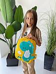 Детский рюкзак, полиэстер (желтый), фото 2