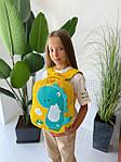 Детский рюкзак, полиэстер (желтый), фото 7
