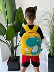 Детский рюкзак, полиэстер (желтый), фото 6