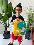 Детский рюкзак, полиэстер (желтый), фото 5
