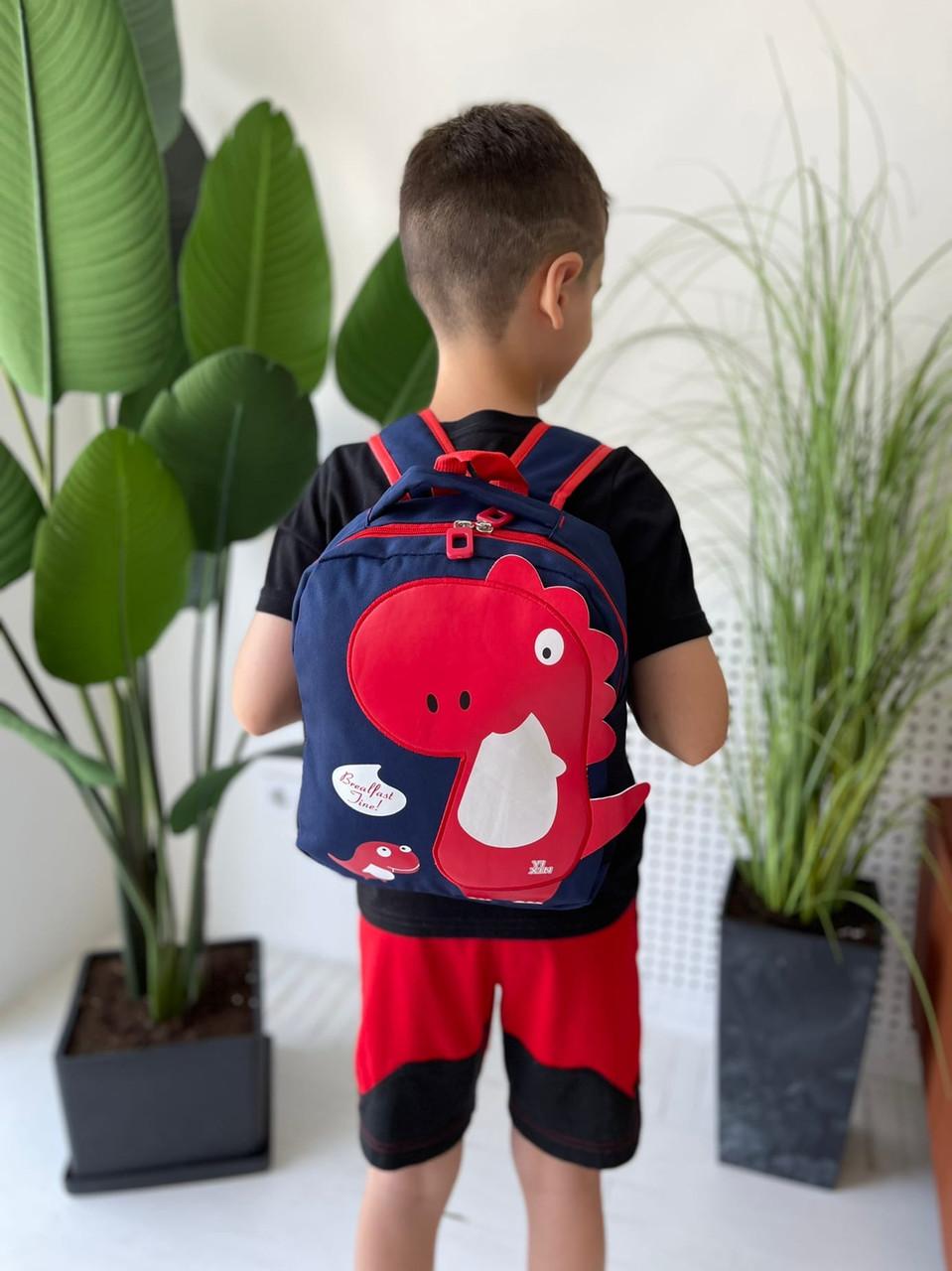 Дитячий рюкзак, поліестер (синій)