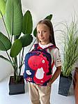Дитячий рюкзак, поліестер (синій), фото 4