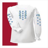 Заготовка сорочки для девочки СДТ2-003 (размер 30-34)