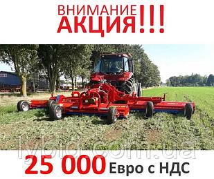 Подрібнювач рослинних залишків, мульчер пожнивних залишків кукурудзи, соняшнику CUNEO - 920 (9.2 м)