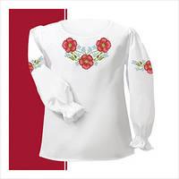 Заготовка сорочки для девочки СДТ2-004 (размер 30-34)