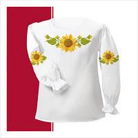Заготовка сорочки для девочки СДТ2-007 (размер 30-34)