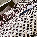 Комплект постельного белья Евро размер с фланели высокого качества, фото 7