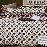 Комплект постельного белья Евро размер с фланели высокого качества, фото 6