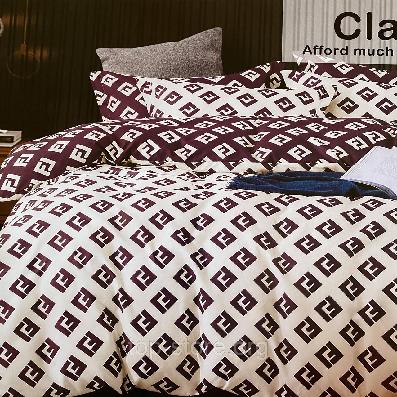 Комплект постельного белья Евро размер с фланели высокого качества
