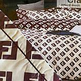 Комплект постельного белья Евро размер с фланели высокого качества, фото 8