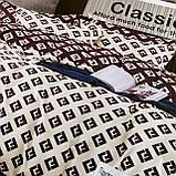 Комплект постельного белья Евро размер с фланели высокого качества, фото 4