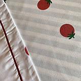 Комплект постільної білизни Євро розмір з фланелі високої якості, фото 6