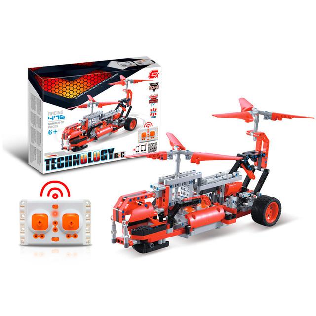 Детский радиоуправляемый конструктор 6 в 1 вертолет SDL Technic