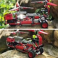 Дитячий радіокерований конструктор 6 в 1 вертоліт SDL Technic (476 блоків), фото 6