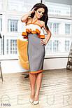 Кольорове плаття-бандо, фото 3