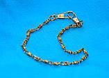 Красивый утонченный браслет цепочка на руку под золото с очень красивым плетением 082021, фото 2