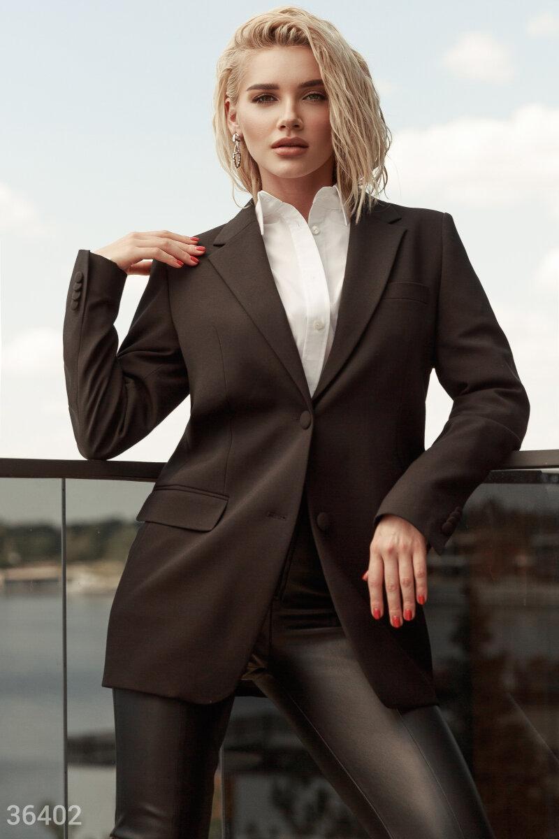 Класичний однобортний піджак