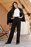 Широкі брюки трикотажні, фото 2