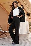Широкі брюки трикотажні, фото 4