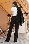 Широкі брюки трикотажні, фото 5