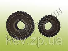 Шестерни конические, спиральные к фрезерной головке станков (комплект) 675,676