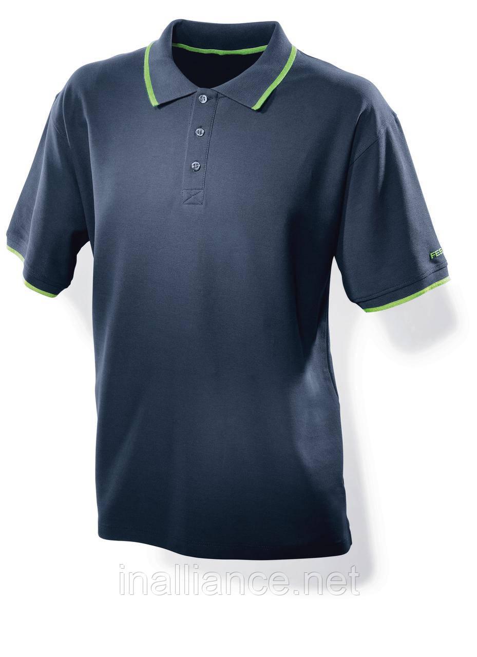 Мужская рубашка поло синяя размер L Festool 498454