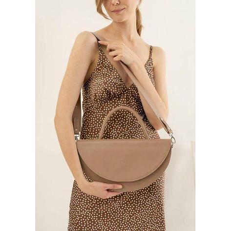 Жіноча шкіряна міні-сумка Сһгіѕ maxi білий, фото 2
