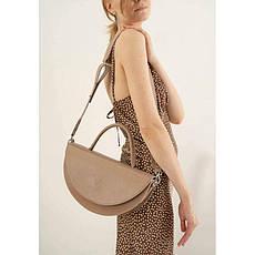 Жіноча шкіряна міні-сумка Сһгіѕ maxi білий, фото 3
