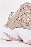 Жіночі кросівки Nike M2K Tekno Beige White, фото 4