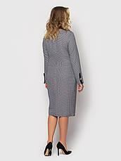 Плаття ділового стилю батальне сірого кольору, фото 3
