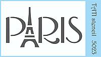 "Трафарет ""Paris"""
