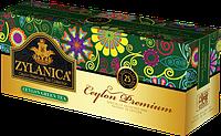 Чай в пакетиках зеленый Zylanica 25 п.