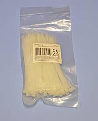 Хомут пластиковый (стяжка) 100х2.5мм белый  NAR0047-10  упак.100шт