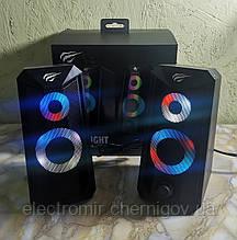 Колонки компьютерные игровые с подсветкой Havit SK-202