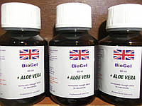 Биогель для педикюра и маникюра+ALOE VERA гель на фруктовых кислотах, кислотный педикюр, Dermapharms UK, 60 мл