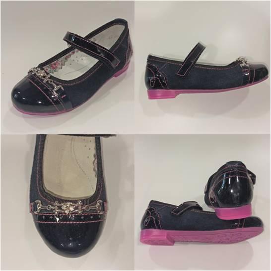 Шкіряні туфлі дівчинці, LCkids фото