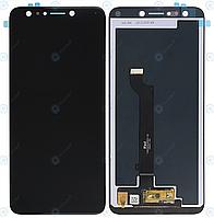 Дисплей для Asus ZenFone 5 Lite (ZC600KL, X017DA, X017D) модуль в зборі (екран і сенсор) чорний, оригінал