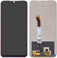 Дисплей для Xiaomi Redmi Note 8 (M1908C3JH, M1908C3JG, M1908C3JI), модуль (экран и сенсор) пурпурный, оригинал