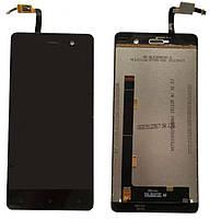 Дисплей для Blackview Omega Pro, модуль в сборе (экран и сенсор), черный, оригинал