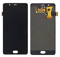 Дисплей для ZTE Nubia M2 (NX551J), модуль в зборі (екран і сенсор), чорний, оригінальний
