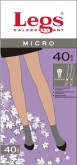 женские носки 40 ден LEGS