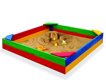 Дитяча кольорова пісочниця Sportbaby 1