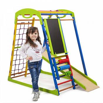 Дитячий спортивний комплекс для будинку SportWood Plus Sportbaby