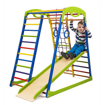 Дитячий спортивний комплекс для будинку SportWood Sportbaby