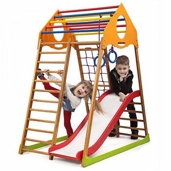 Дитячий спортивний комплекс для будинку KindWood Plus 1 Sportbaby