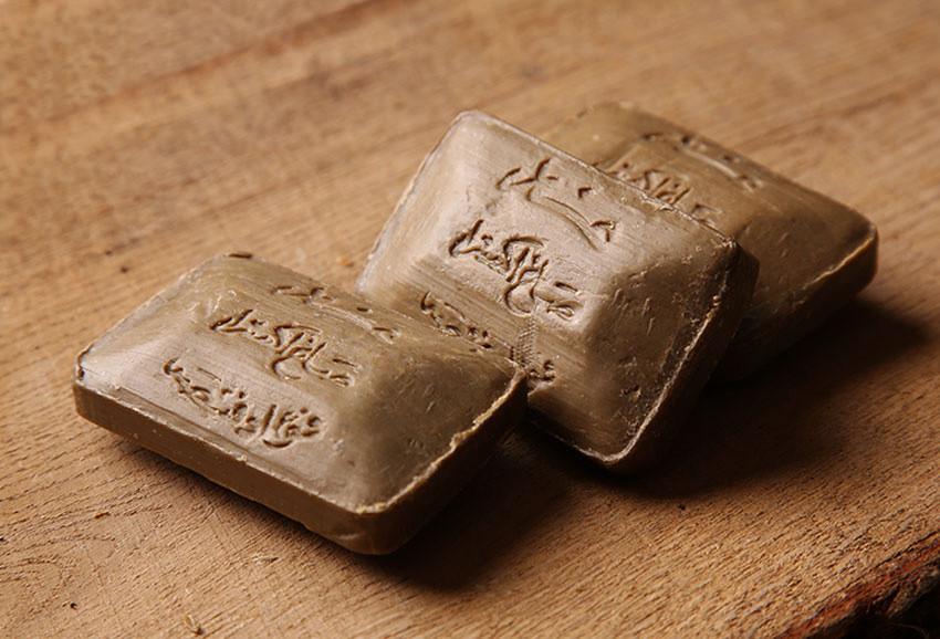 Традиционное алеппское мыло F.Fansa,  18% лавра, 110g., Cирия